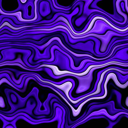 Crazy abstract melted colorful shapes as wallpaper