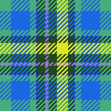 clan: Tile of colorful tartan as seamless pattern Stock Photo