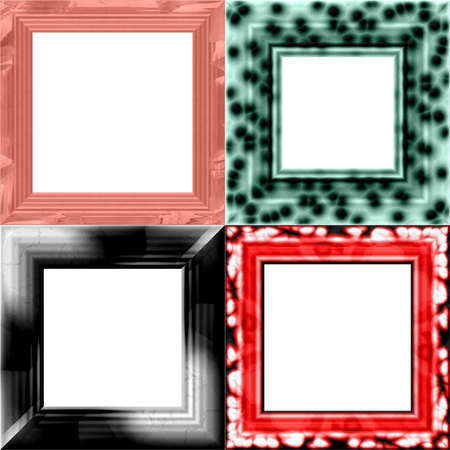 periphery: Set of frames with place for picture