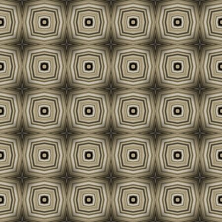 Abstract seamless pattern with a kaleidoscopic motif Stock Photo