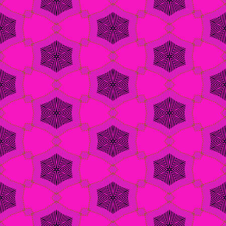 polychromatic: Abstract seamless pattern with a kaleidoscopic motif Stock Photo