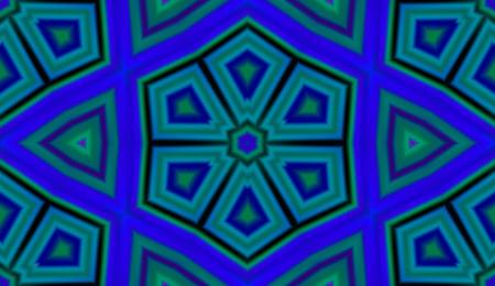 lsd: Seamless pattern with abstract motif like a kaleidoscope