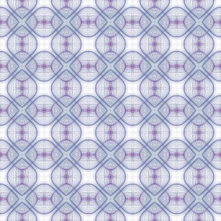 kaleidoscopic: Abstract seamless pattern with a kaleidoscopic motif Stock Photo
