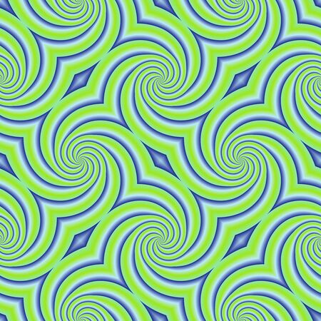 slantwise: Abstract seamless pattern with a psychedelic motif