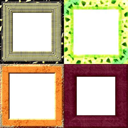 garniture: Set of frames with place for picture