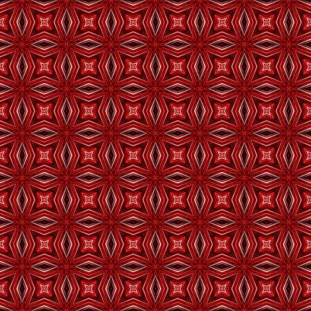 reddish: Seamless pattern with abstract motif like a kaleidoscope