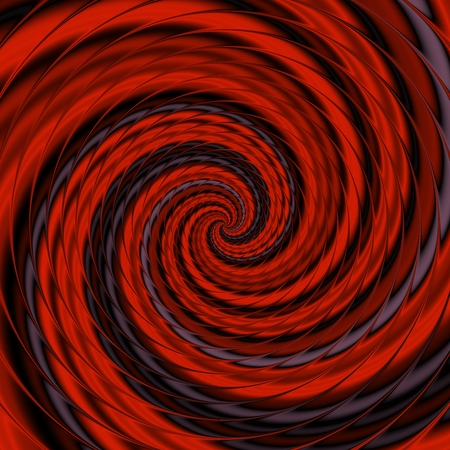 reddish: Crazy and funny abstract spirals in reddish colors Stock Photo