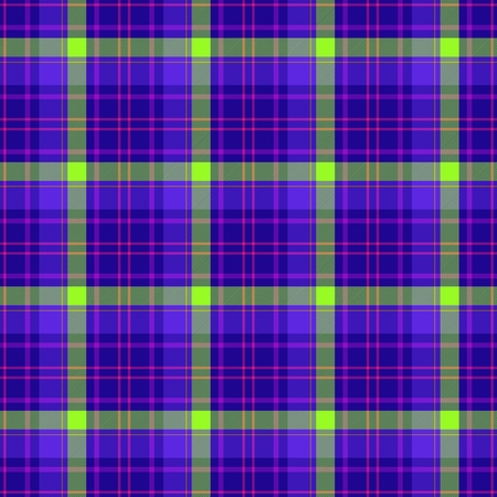 traditional clothing: Tile of colorful tartan as seamless pattern Stock Photo