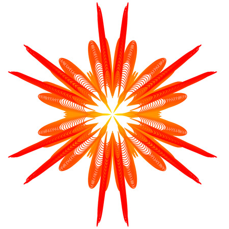 reddish: Nice abstract symbol like a cute bloom