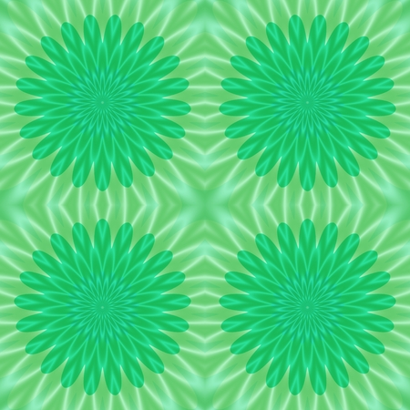greenish: Crazy colored abstract shapes useful as nice background