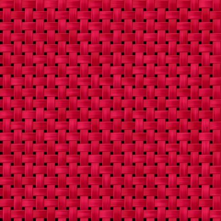 woven: Tile of seamless pattern like a interlace basket strings Stock Photo