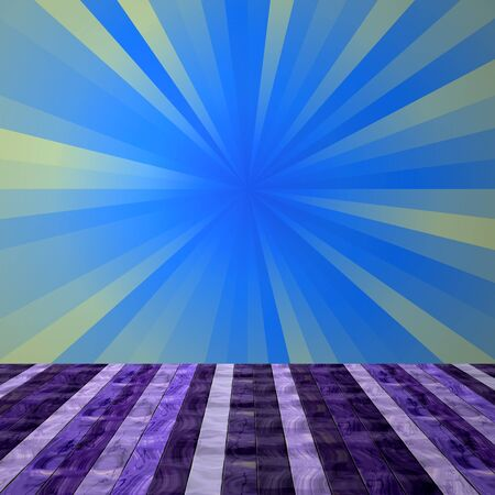 mauve: Abstract empty room with violet wooden floor