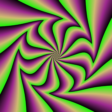 terrific: Crazy and funny abstract spirals in amazing colors