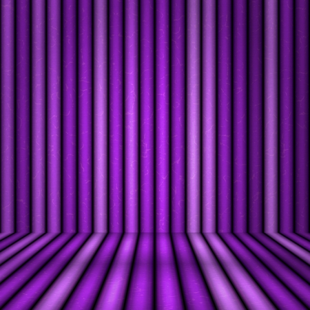 tranquillity: Abstract empty room with dark mauve stripes