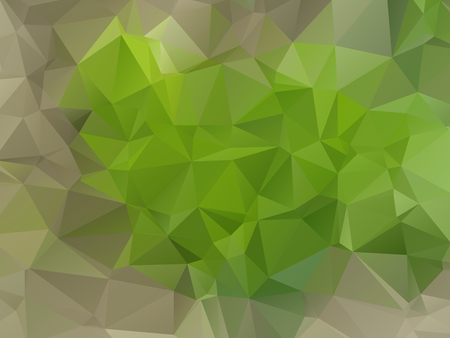 abstract wallpaper: Cute green abstract wallpaper with triangular pattern