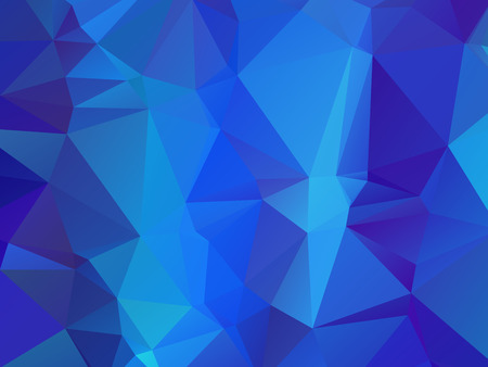 Cute Dark Blue Wallpaper With Triangular Pattern Royalty Free