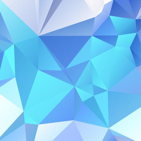 rumple: Abstract sharp light blue wallpaper with triangular pattern