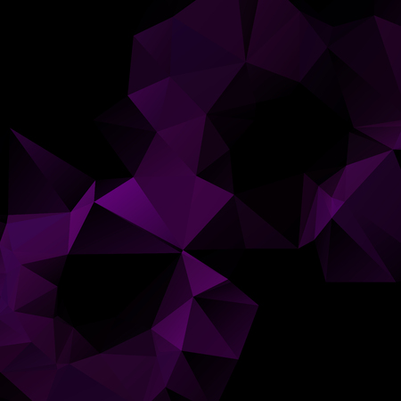rumple: Abstract dark colored wallpaper with triangular pattern Illustration
