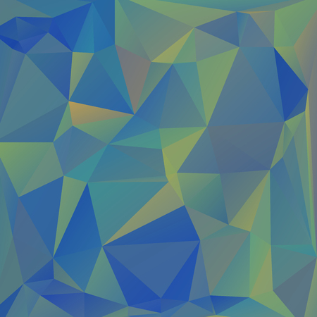 scrunch: Abstract blue colored wallpaper with triangular pattern Illustration