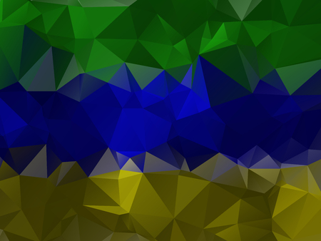 crinkle: Abstract crazy colored wallpaper with triangular pattern