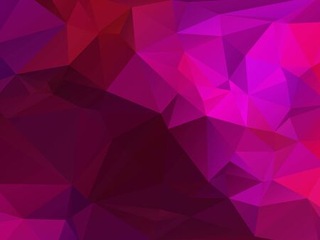 rumple: Abstract violet colored wallpaper with triangular pattern