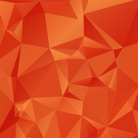 rumple: Abstract orange colored wallpaper with triangular pattern