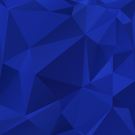mysterious: Abstract blue colored wallpaper with triangular pattern Illustration