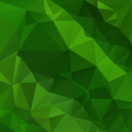 rumple: Abstract green colored wallpaper with triangular pattern
