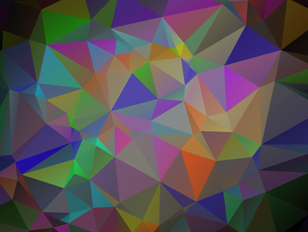 scrunch: Abstract crazy colored wallpaper with triangular pattern