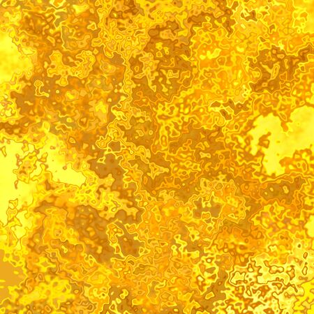 melted: Crazy abstract melted yellow shapes as wallpaper