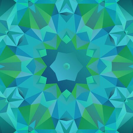 bluish: Abstract geometric pattern in shades of blue