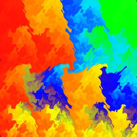 disordered: Abstract phantasmagoric background as mix many colors