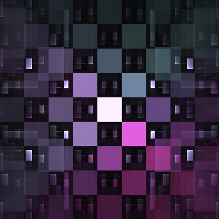 mauve: Abstract mauve fractal squares as nice background