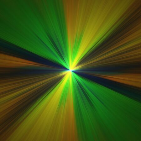greenish: Abstract crazy fractal shapes as psychedelic background