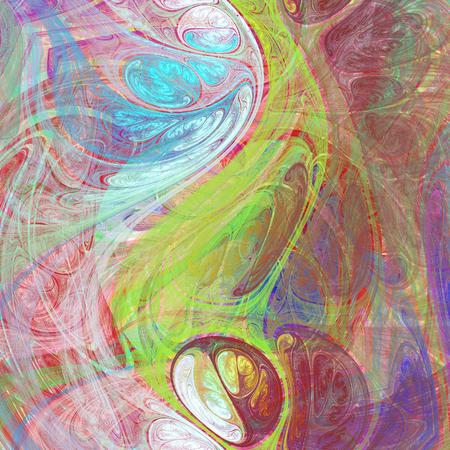 hallucinatory: Bizarre abstract crazy hallucinatory image as wallpaper