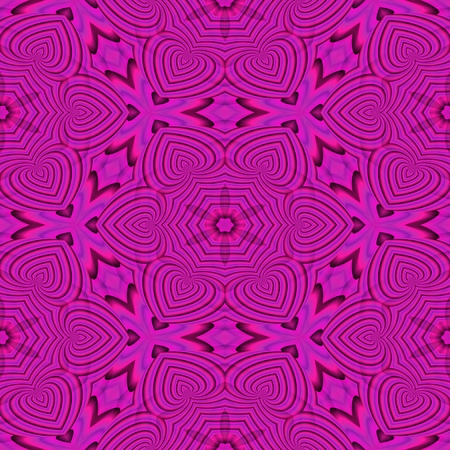 demented: Abstract insane psychedelic shapes as crazy wallpaper