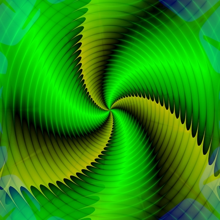 dizziness: Abstract insane psychedelic shapes as crazy wallpaper