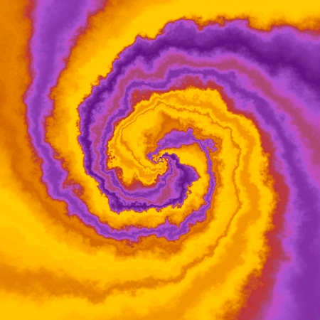 insane: Abstract insane psychedelic shapes as crazy wallpaper