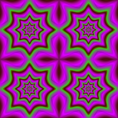 deranged: Abstract insane psychedelic shapes as crazy wallpaper