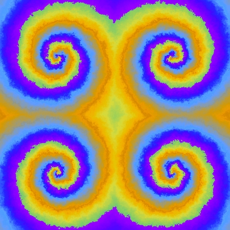loony: Abstract insane psychedelic shapes as crazy wallpaper