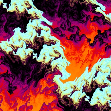 demented: Abstract crazy psychedelic background as nice wallpaper