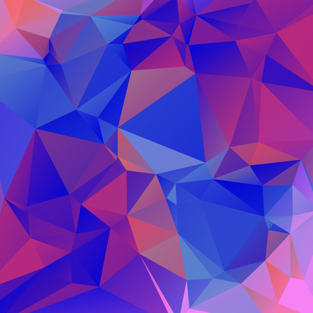 bluish: Nice crazy abstract wallpaper in triangular style Illustration