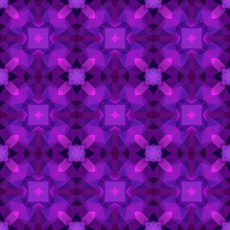 mauve: Crazy psychedelic mauve motif as polygonal seamless pattern Stock Photo
