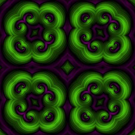 hallucinatory: Crazy psychedelic motif as nice seamless pattern