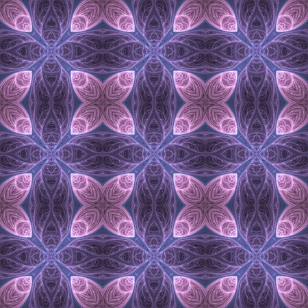 hallucinatory: Crazy psychedelic motif as colorful seamless pattern