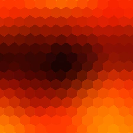 recreational drug: Crazy abstract hexagonal shapes create insane wallpaper Stock Photo