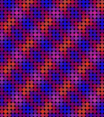 reddish: Crazy colorful background made by many circles