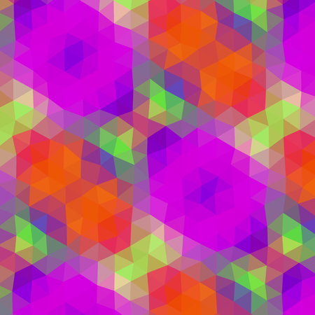 psychodelic: Crazy abstract triangular shapes create insane wallpaper