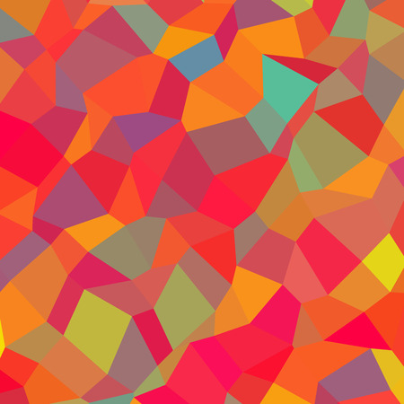 insane: Crazy abstract polygonal shapes create insane wallpaper
