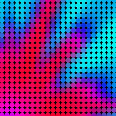 Crazy abstract circles create insane cute wallpaper